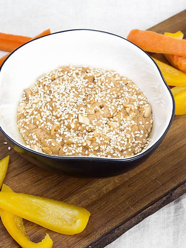 sos orzechowo - cytrynowy
